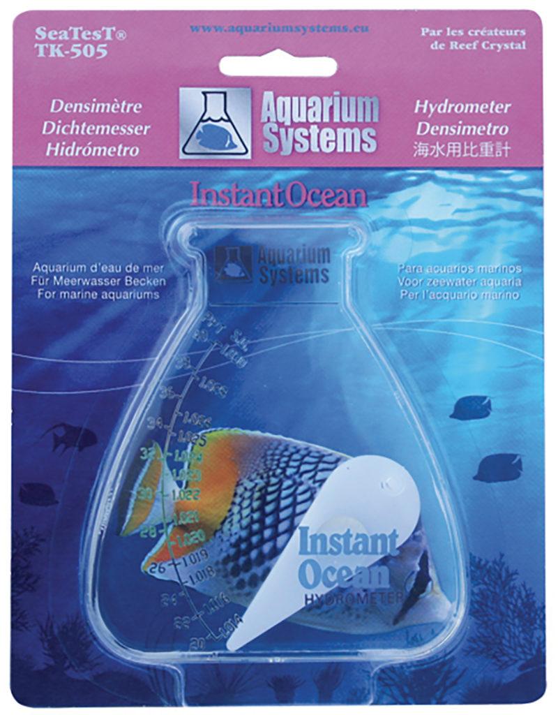AQUARIUM SYSTEMS Densimètre à aiguille pour la mesure de la densité de l\'eau de mer