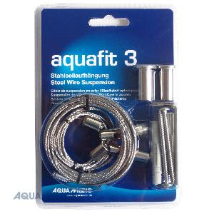 AQUA MEDIC Aquafit 3 kit câbles de suspension pour rampes Ocean Light LED, Ocean Light LED twin et ECOplant LED