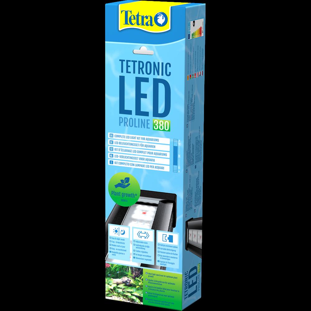 TETRA Tetronic LED Proline 380 rampe d\'éclairage LEDs 6000°K pour aquarium d\'eau douce et terrarium de 40 à 60 cm