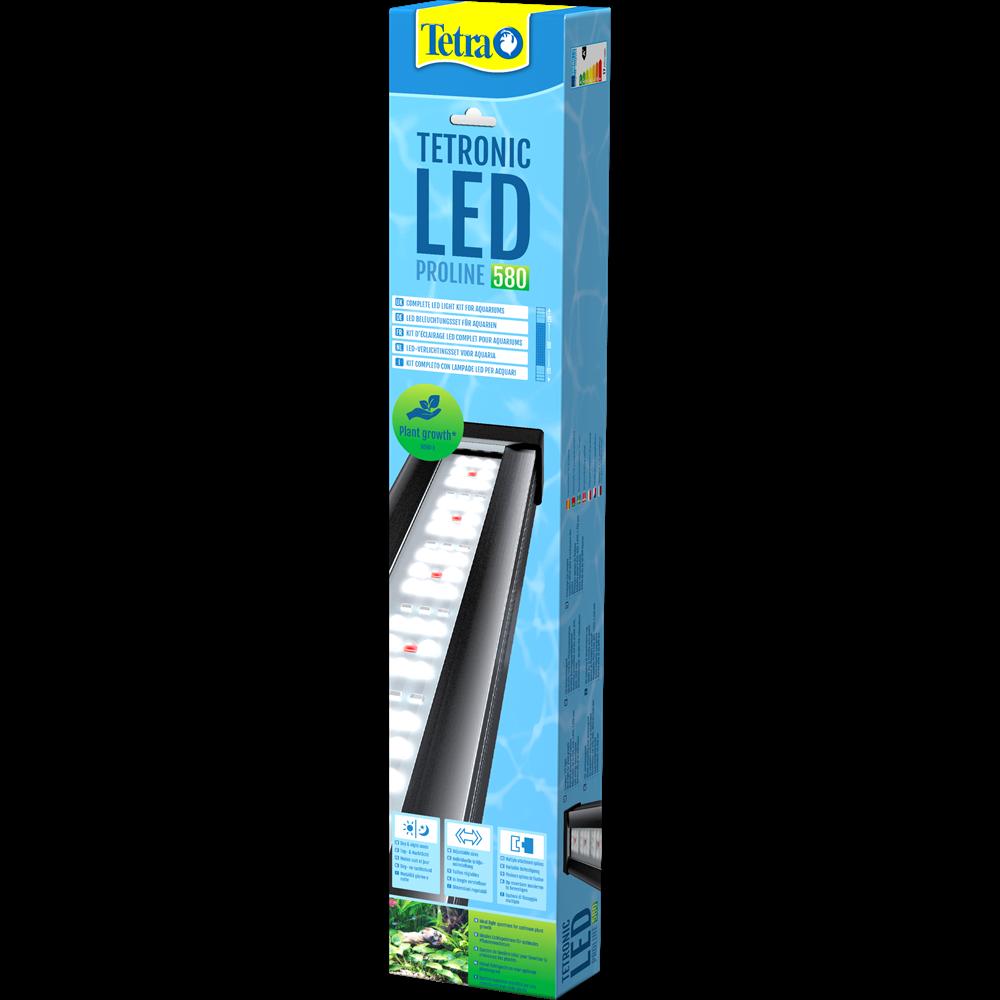 TETRA Tetronic LED Proline 580 rampe d\'éclairage LEDs 6000°K pour aquarium d\'eau douce et terrarium de 60 à 80 cm