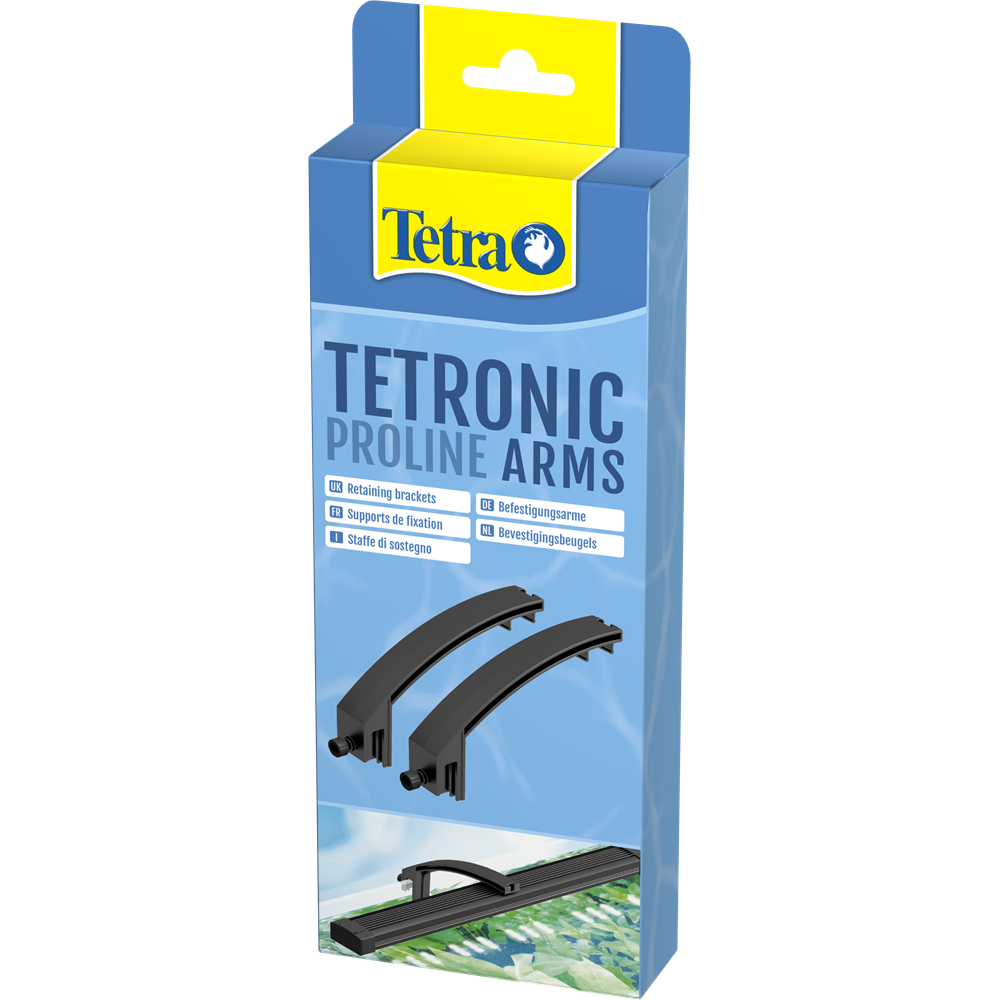 TETRA Tetronic LED Arms lot de 2 supports de fixation pour rampe Tetronic LED Proline 380, 580, 780 et 980
