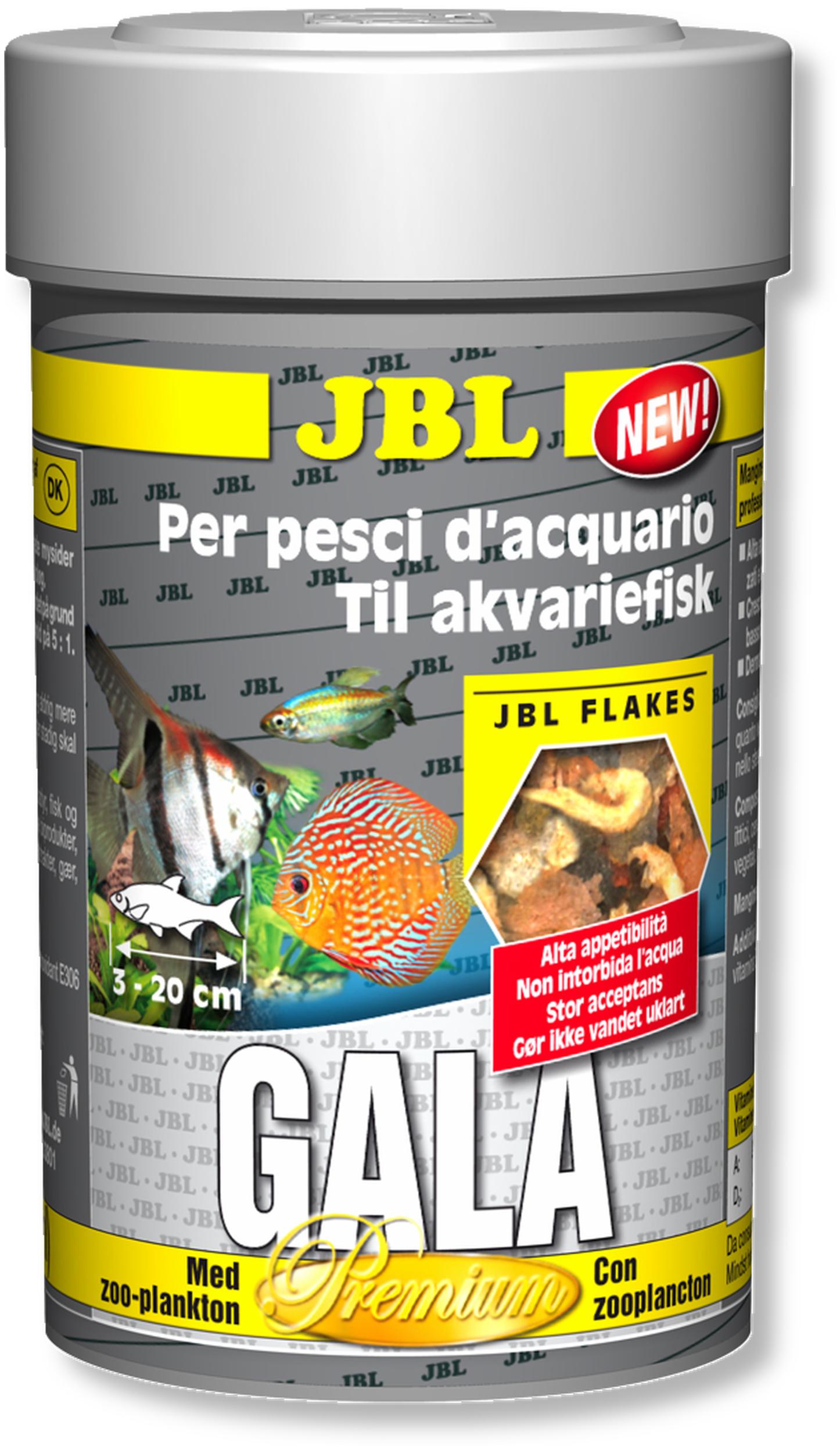 JBL Gala 100ml nouvelle composition nourriture principale de qualité supérieure en flocons