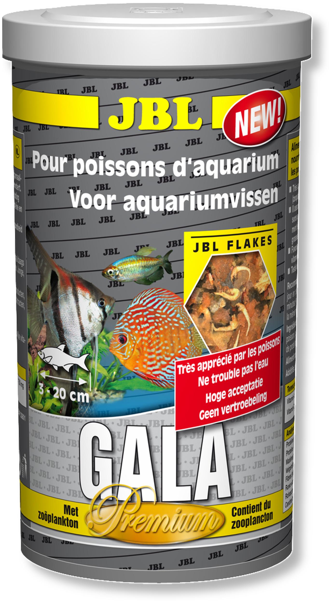 JBL Gala 1L nouvelle composition nourriture principale de qualité supérieure en flocons