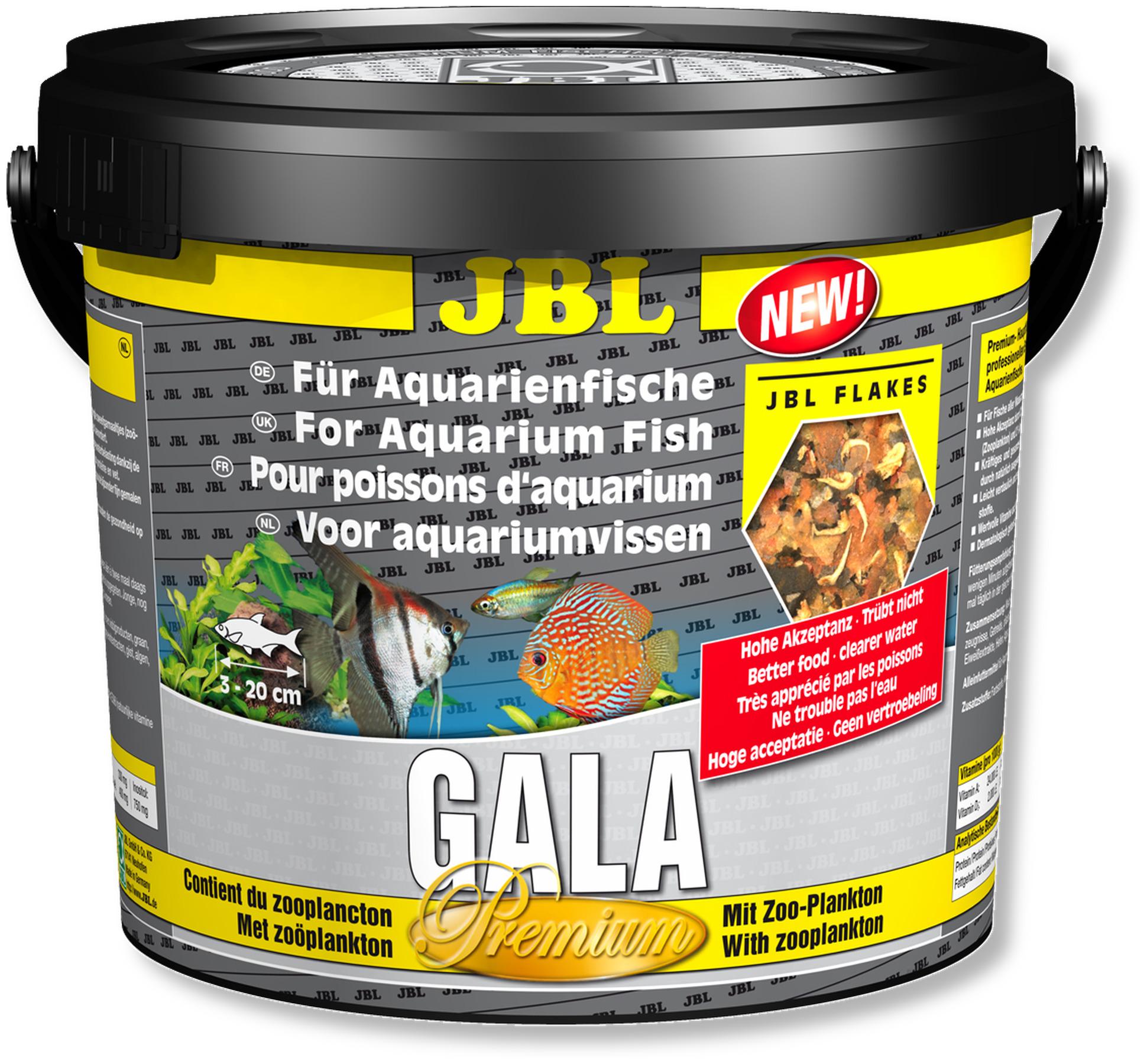 JBL Gala 5,5L nouvelle composition nourriture principale de qualité supérieure en flocons