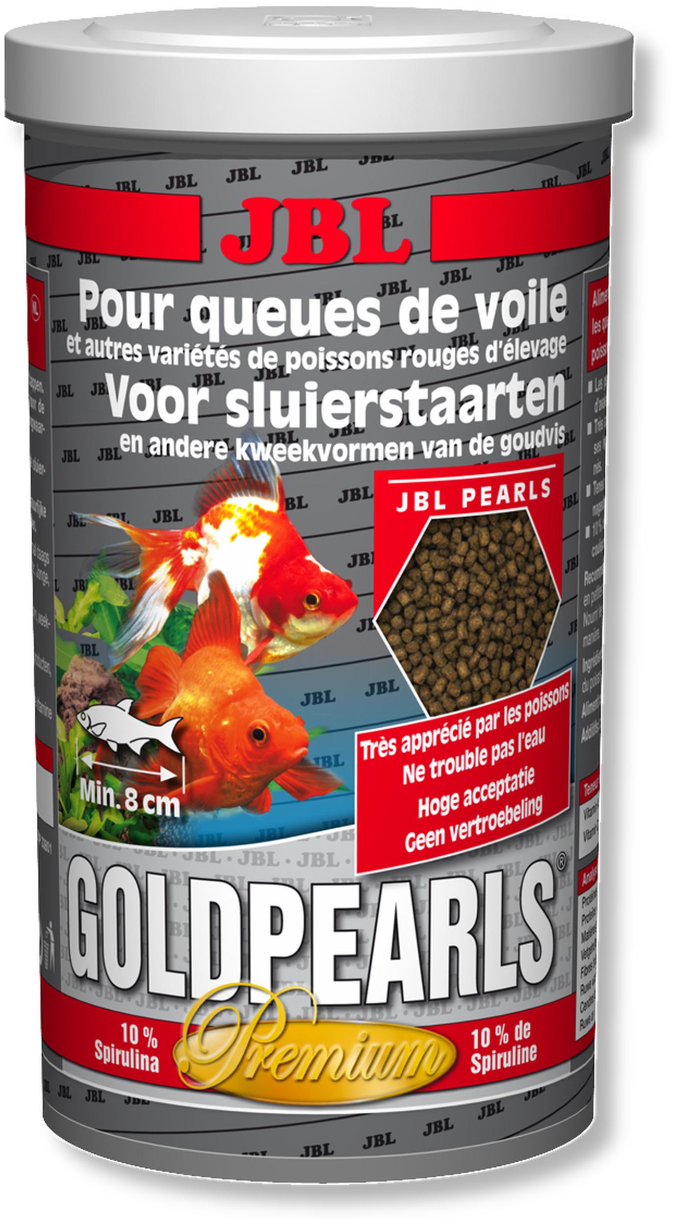 JBL GoldPearls 1 L nourriture en granules pour poissons d\'eau froide