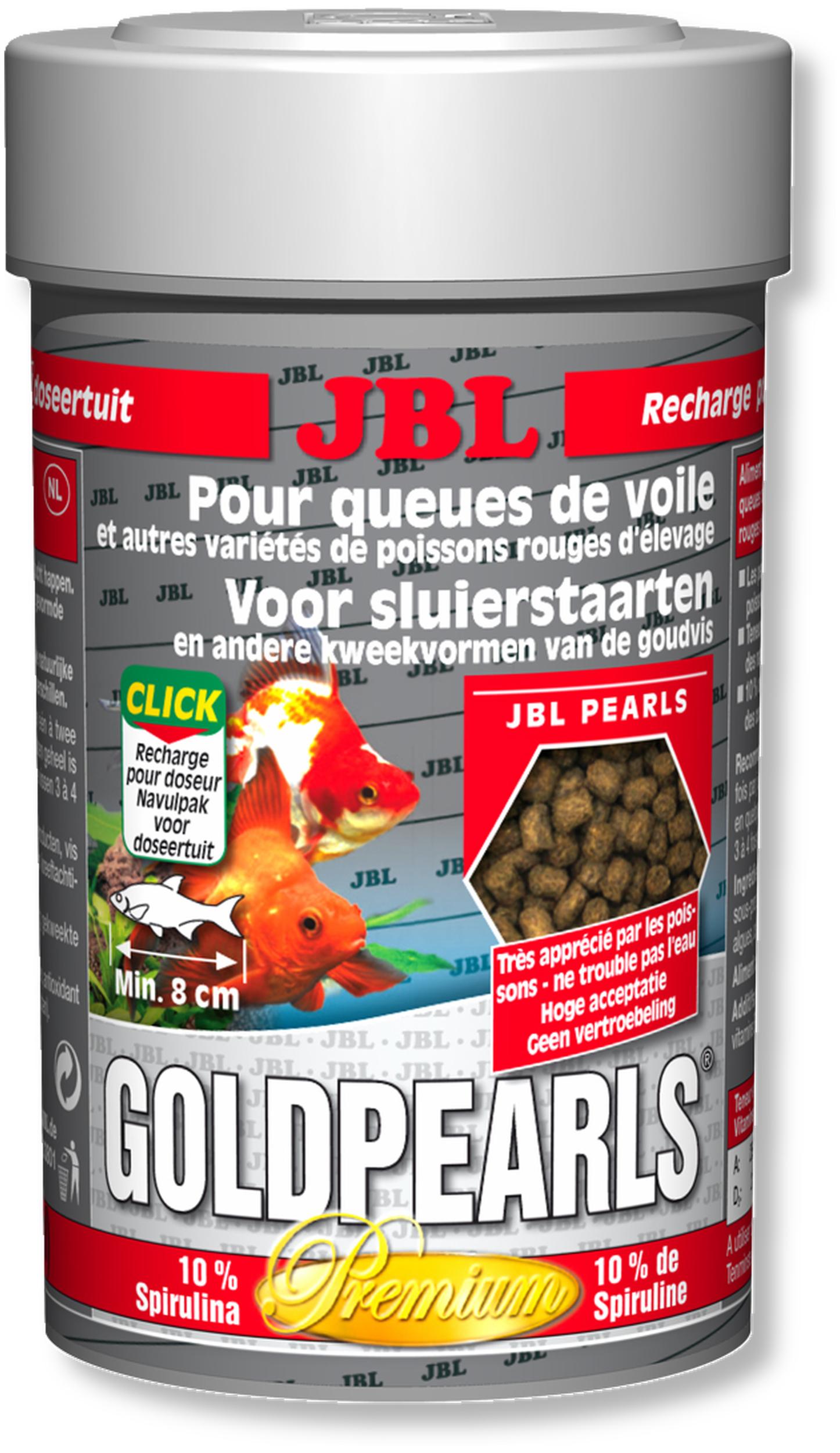 JBL GoldPearls 100 ml nourriture en granules pour poissons d\'eau froide