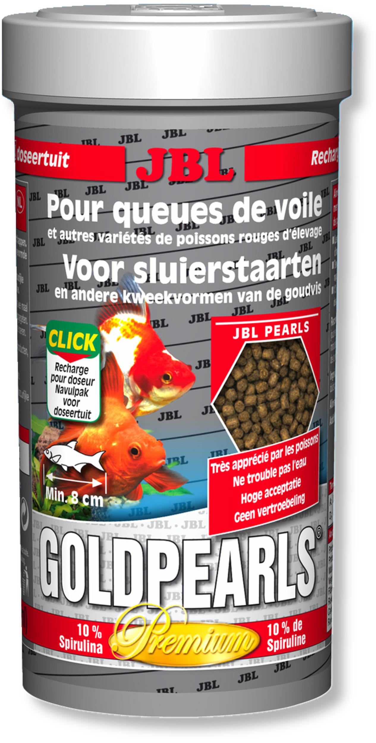 JBL GoldPearls 250 ml nourriture en granules pour poissons d\'eau froide