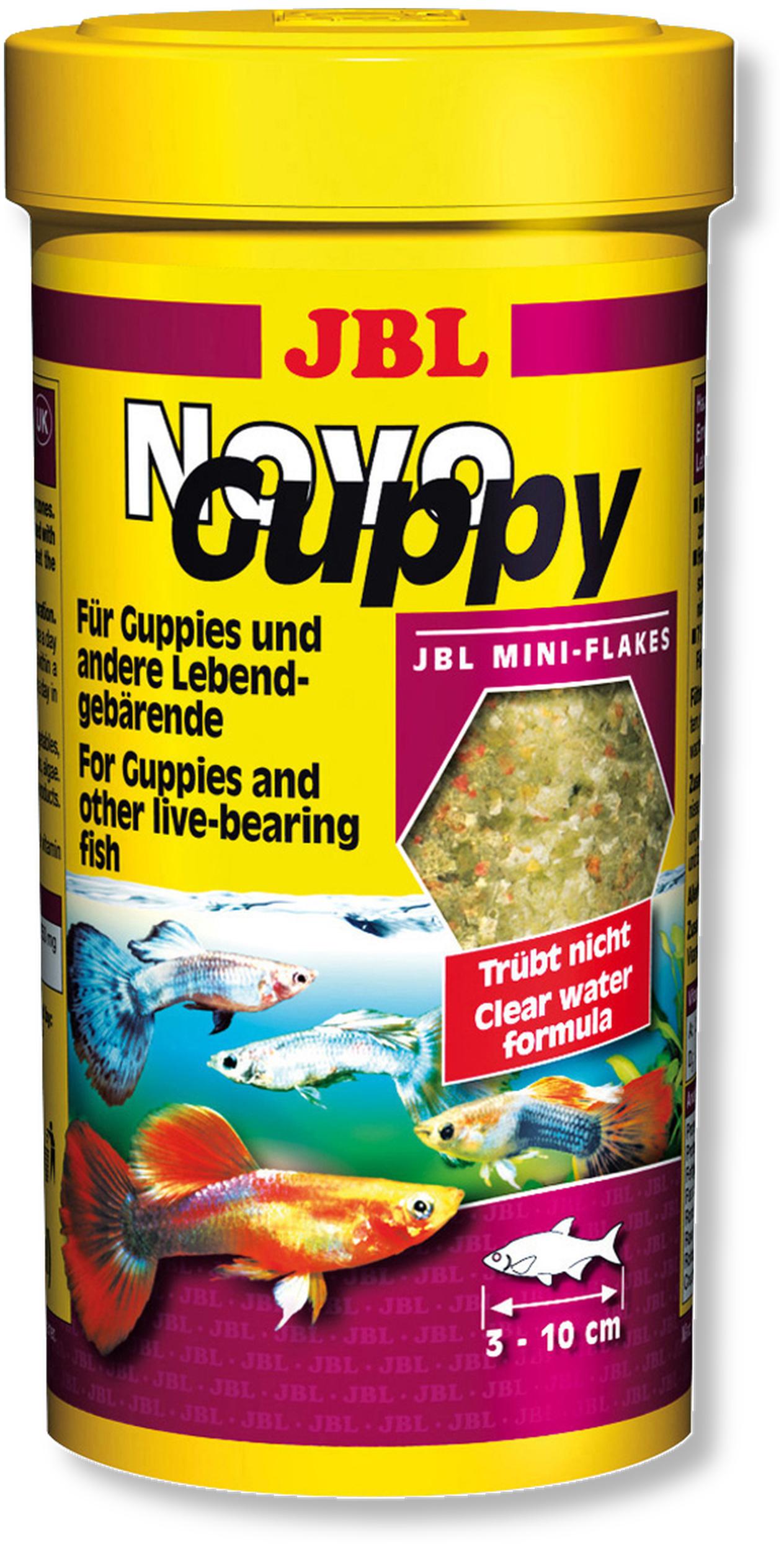 JBL Novo Guppy 100 ml nourriture spécifique pour les Guppys