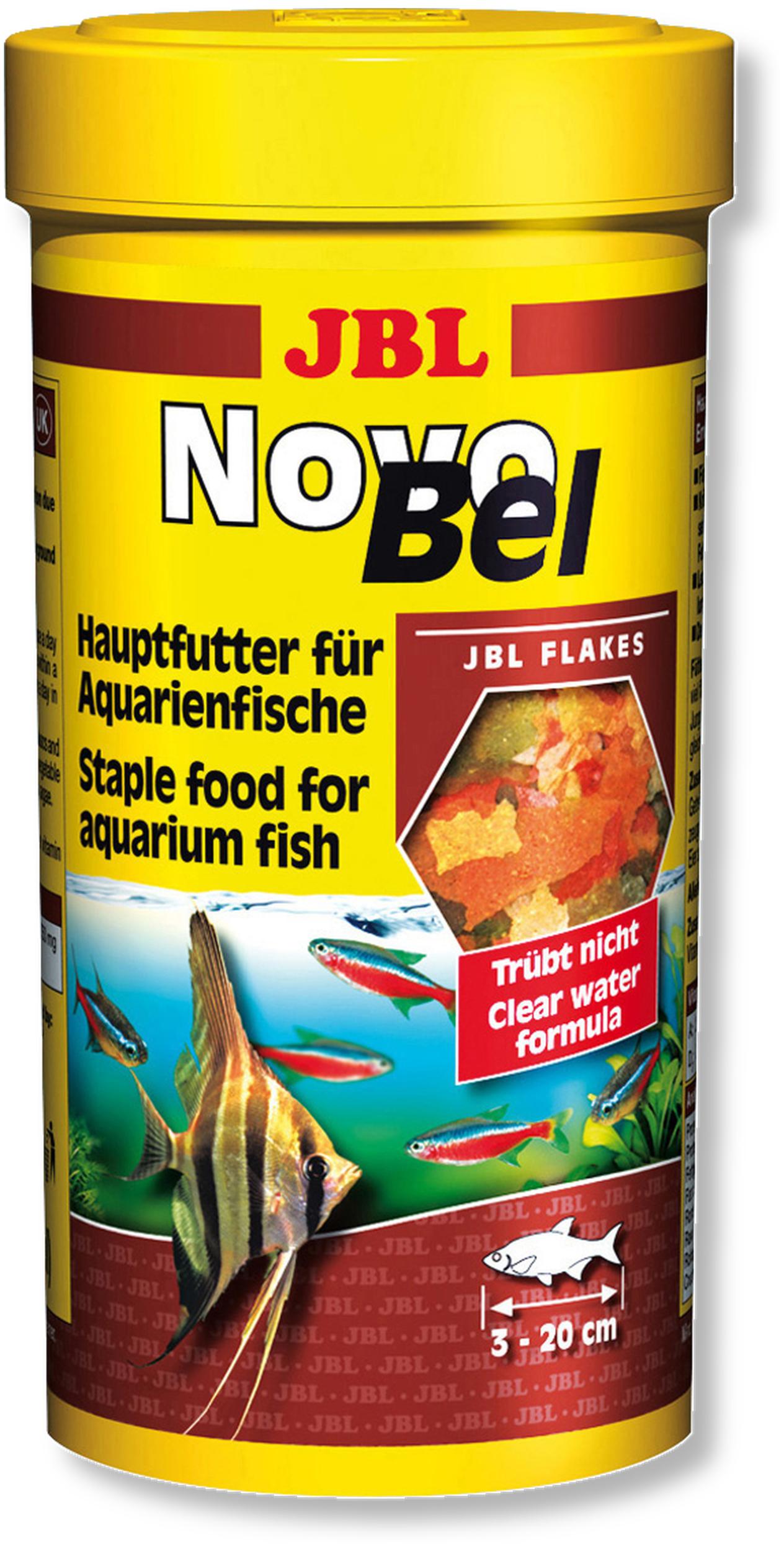 JBL NovoBel 100 ml nourriture en paillettes pour tous les poissons exotiques