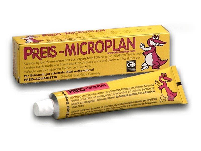 PREIS MicroPlan solution universelle pour l\'élevage d\'invertébrés et poissons
