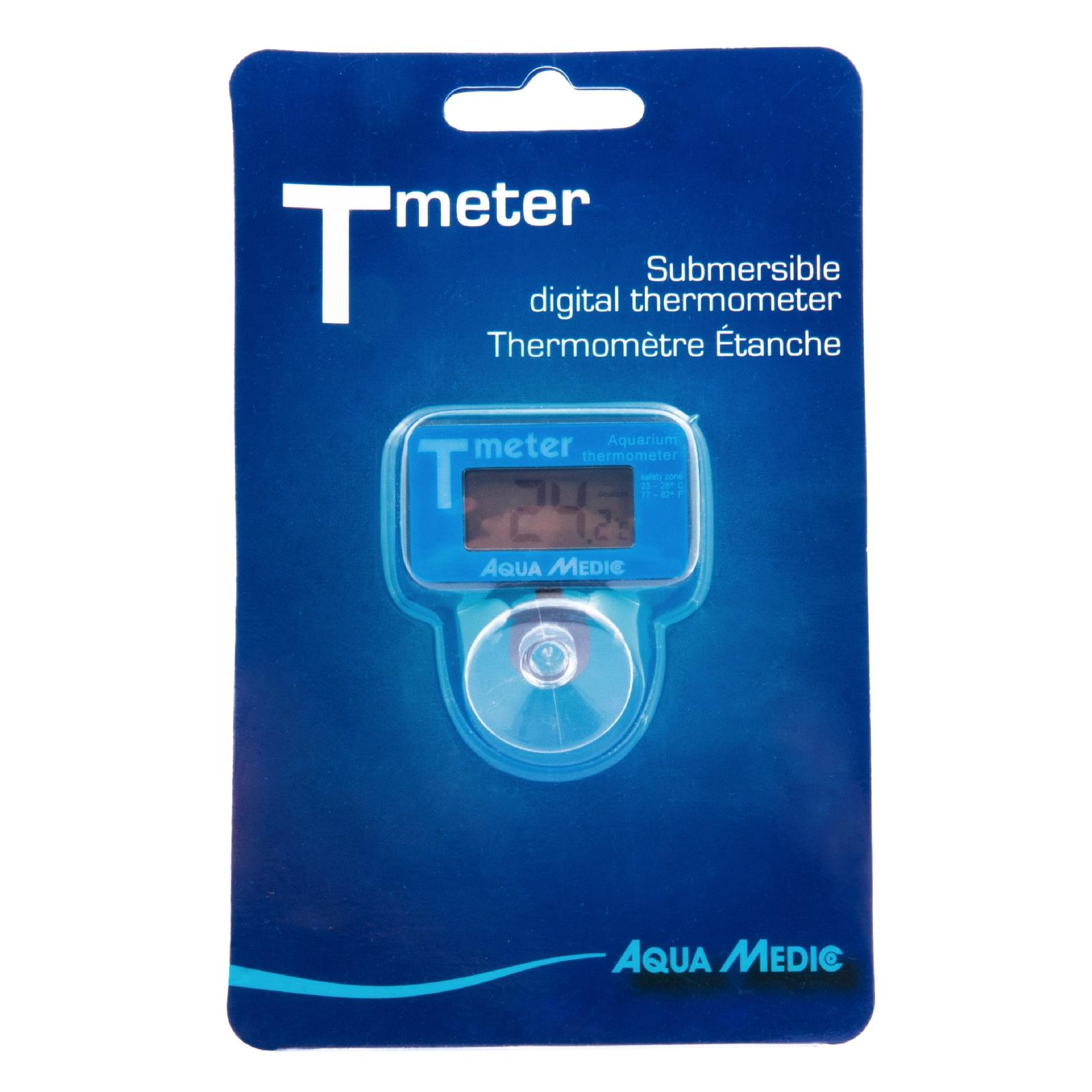 AQUA MEDIC T-meter thermomètre électronique immergeable pour aquarium d\'eau douce et d\'eau de mer