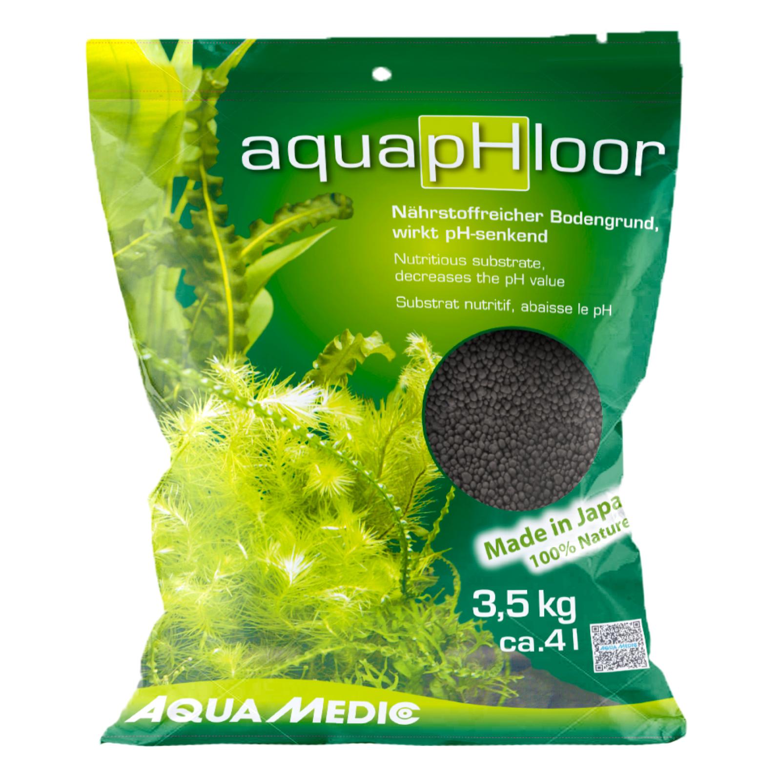 AQUA MEDIC aquapHloor 3,5 kg substrat nutritif et décoratif pour aquarium planté