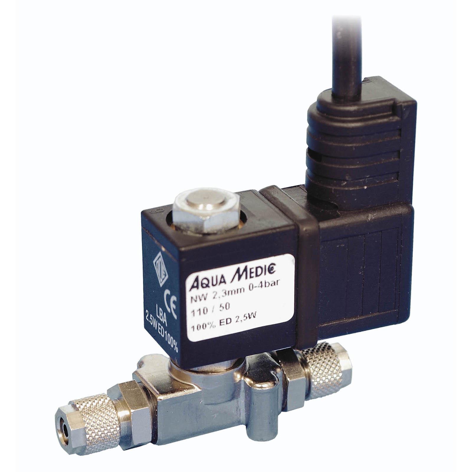 AQUA MEDIC M-ventil Standard électrovanne spéciale CO2 pour tuyaux 6 mm