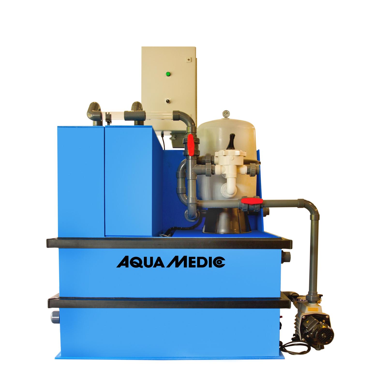 AQUA MEDIC Systemfilter 1 station de filtration pour aquarium d\'eau douce et d\'eau de mer jusqu\'à 20000 L