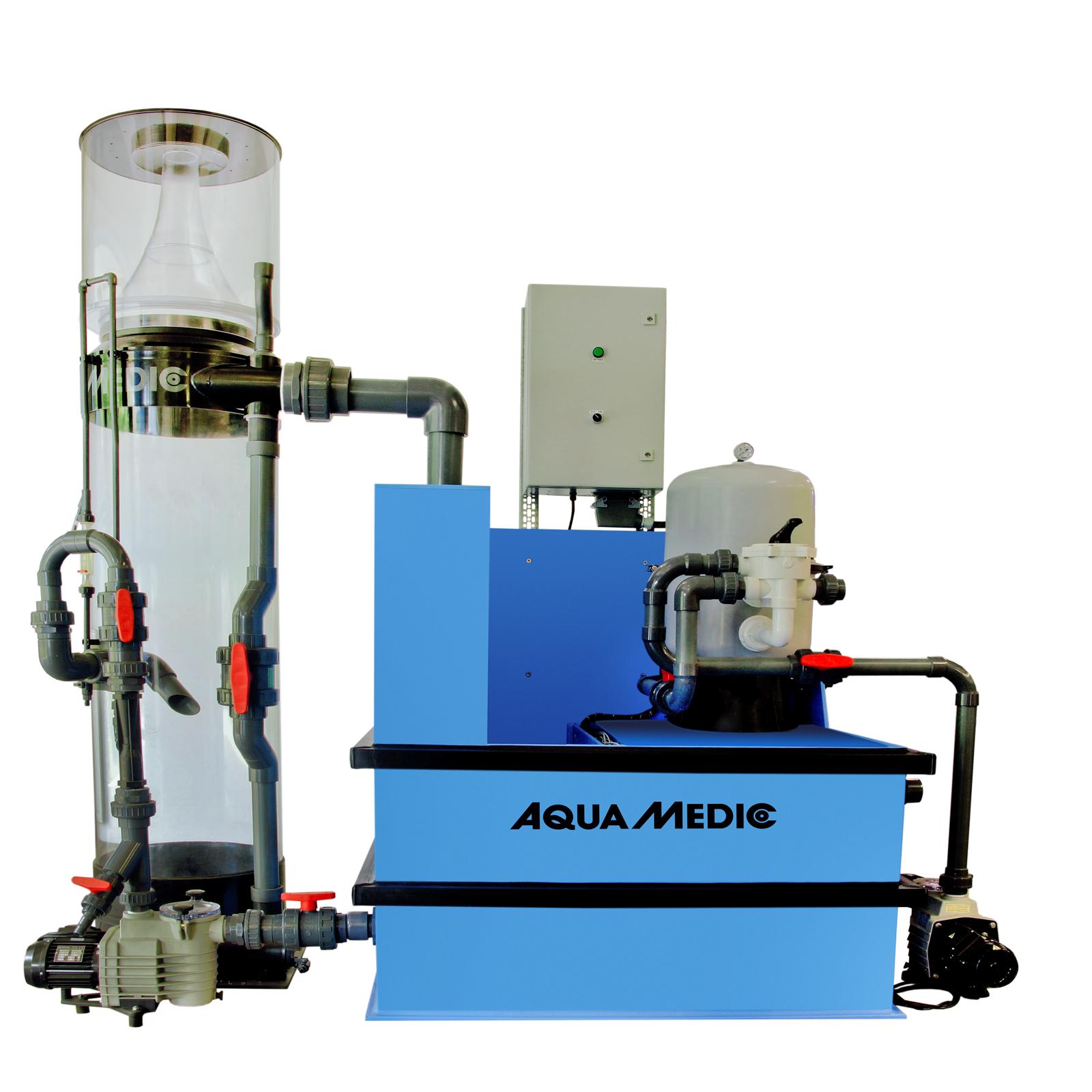 AQUA MEDIC Systemfilter Skim 1 station de filtration pour aquarium d\'eau de mer jusqu\'à 20000 L