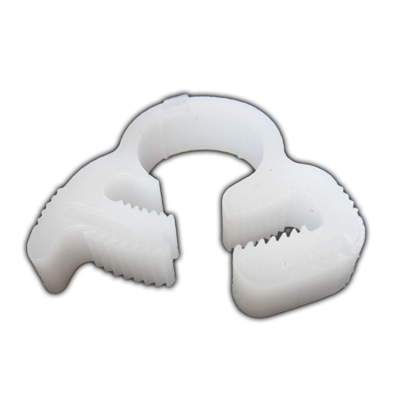 AQUA MEDIC Hose Clip se compose de lot de 4 colliers de serrage pour tuyau de 6 à 7 mm