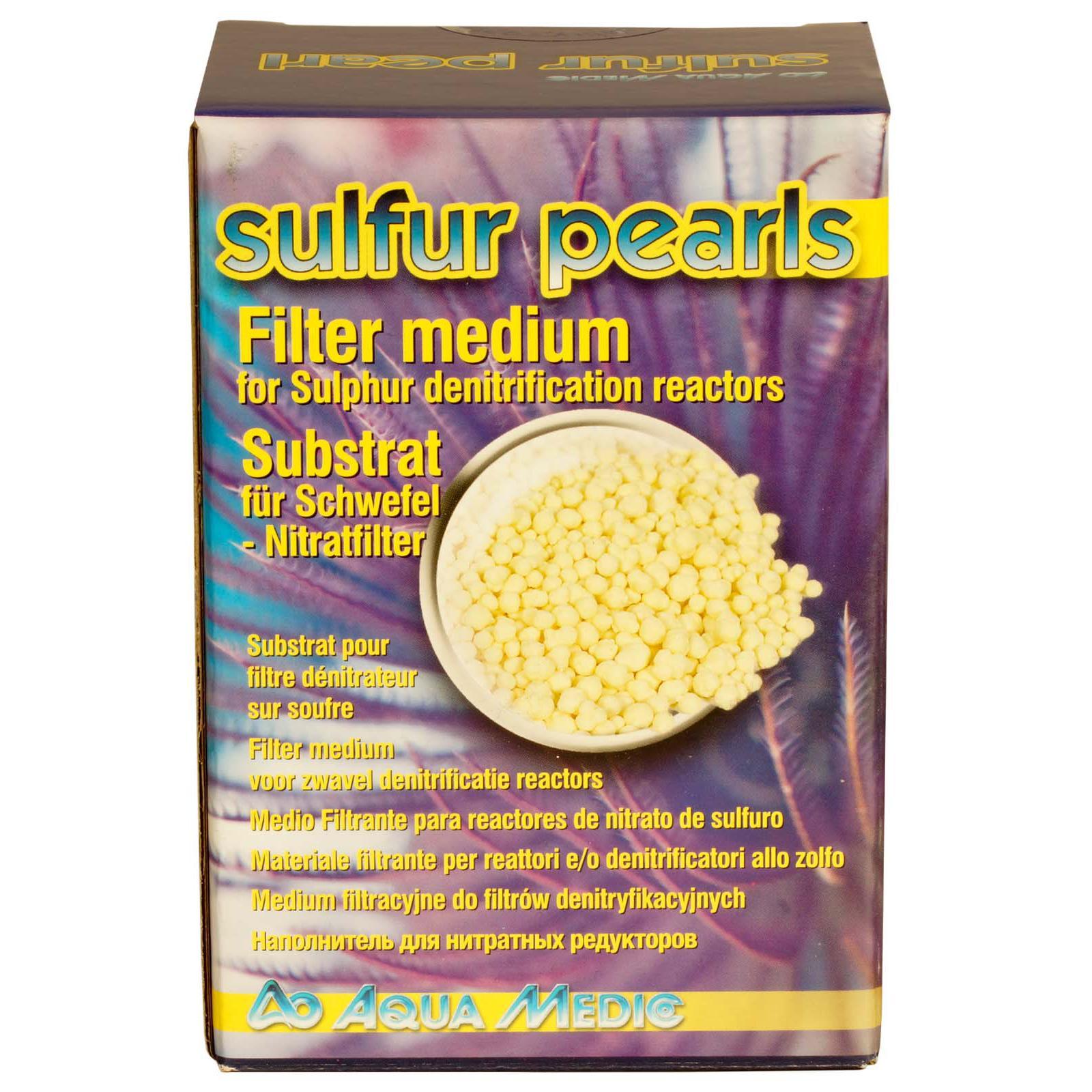 AQUA MEDIC Sulfur Pearls 1 L billes de souffre pur pour dénitrateurs