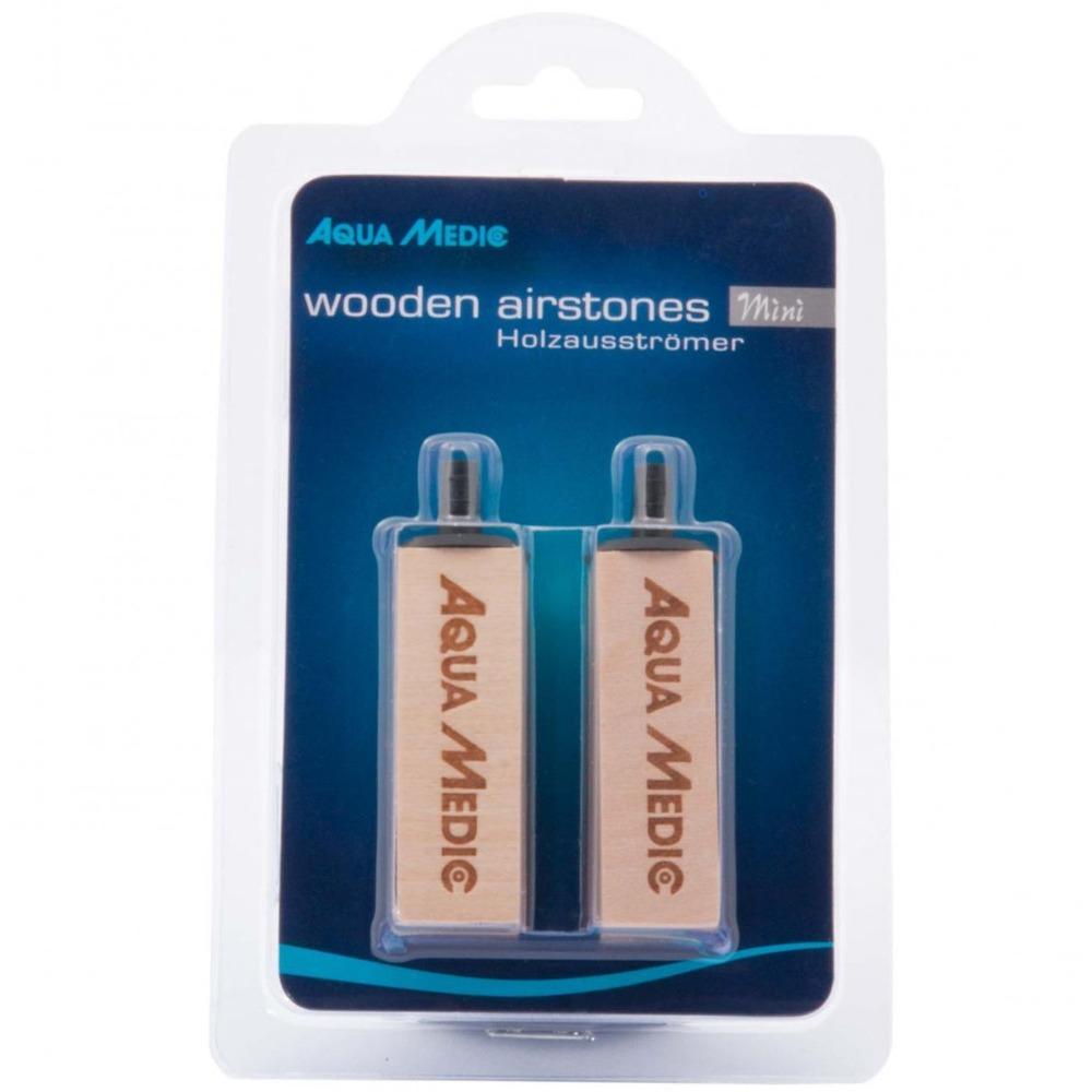 AQUA MEDIC Diffuseur Mini lot de 2 diffuseurs en bois 1,5 x 1,5 x 5,7 cm pour écumeur à air