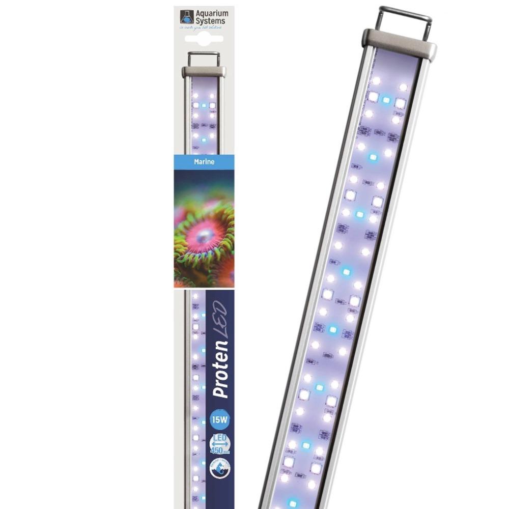 AQUARIUM SYSTEMS Proten LED Marine 45 cm rampe d\'éclairage pour aquarium de 45 à 60 cm ou remplacement d\'un tube T5 ou T8