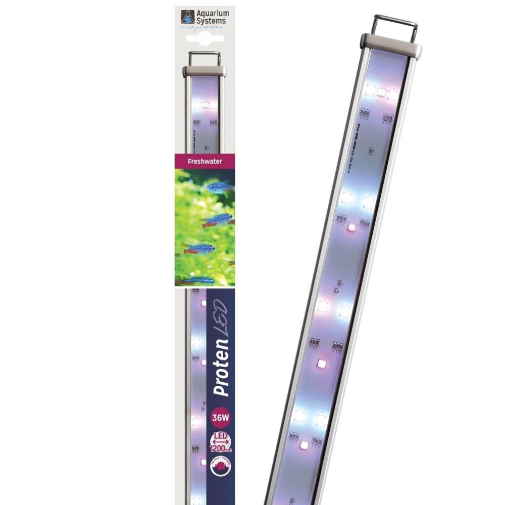 AQUARIUM SYSTEMS Proten LED Eau Douce 120 cm rampe d\'éclairage pour aquarium de 120 à 150 cm ou remplacement d\'un tube T5 ou T8