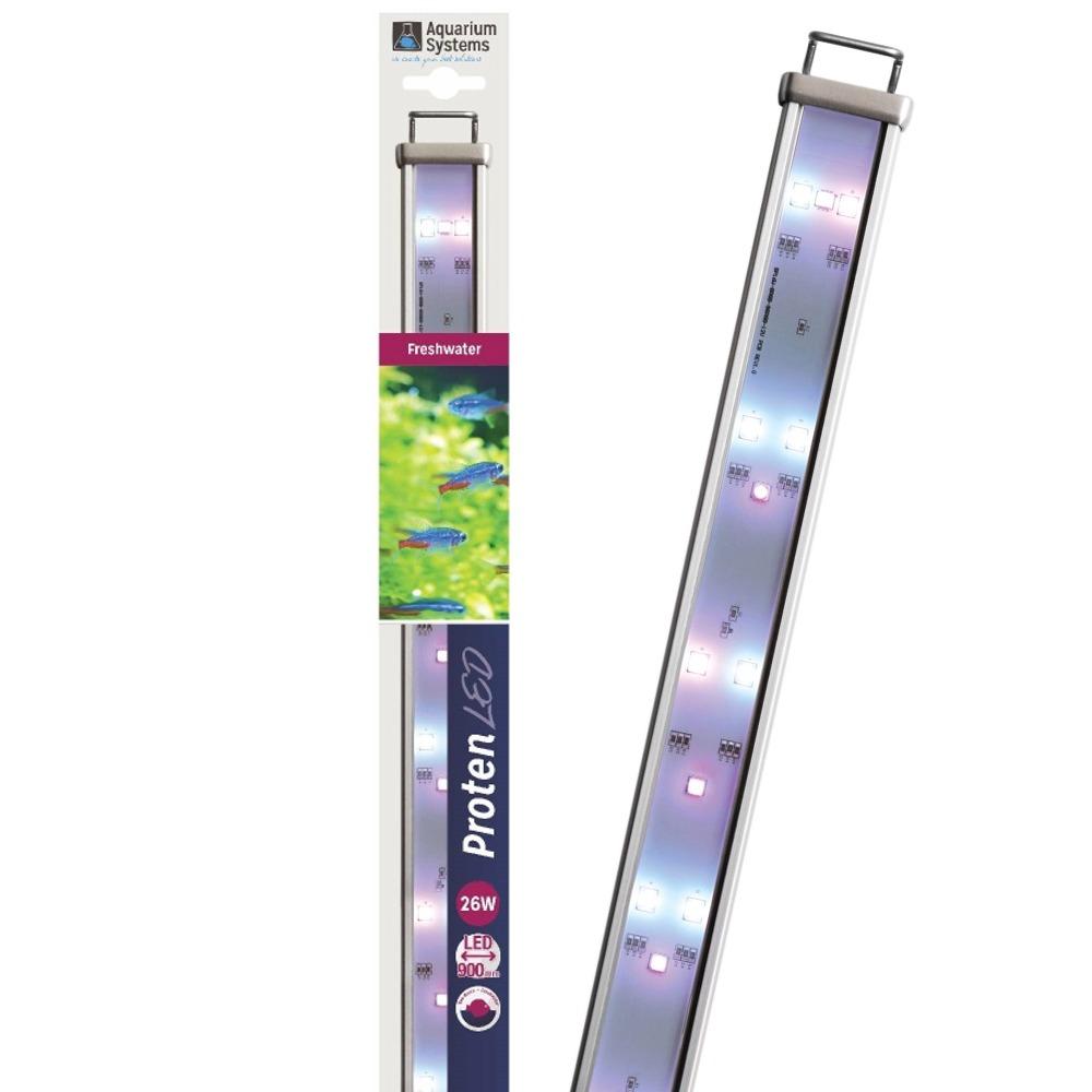 AQUARIUM SYSTEMS Proten LED Eau Douce 90 cm rampe d\'éclairage pour aquarium de 90 à 120 cm ou remplacement d\'un tube T5 ou T8