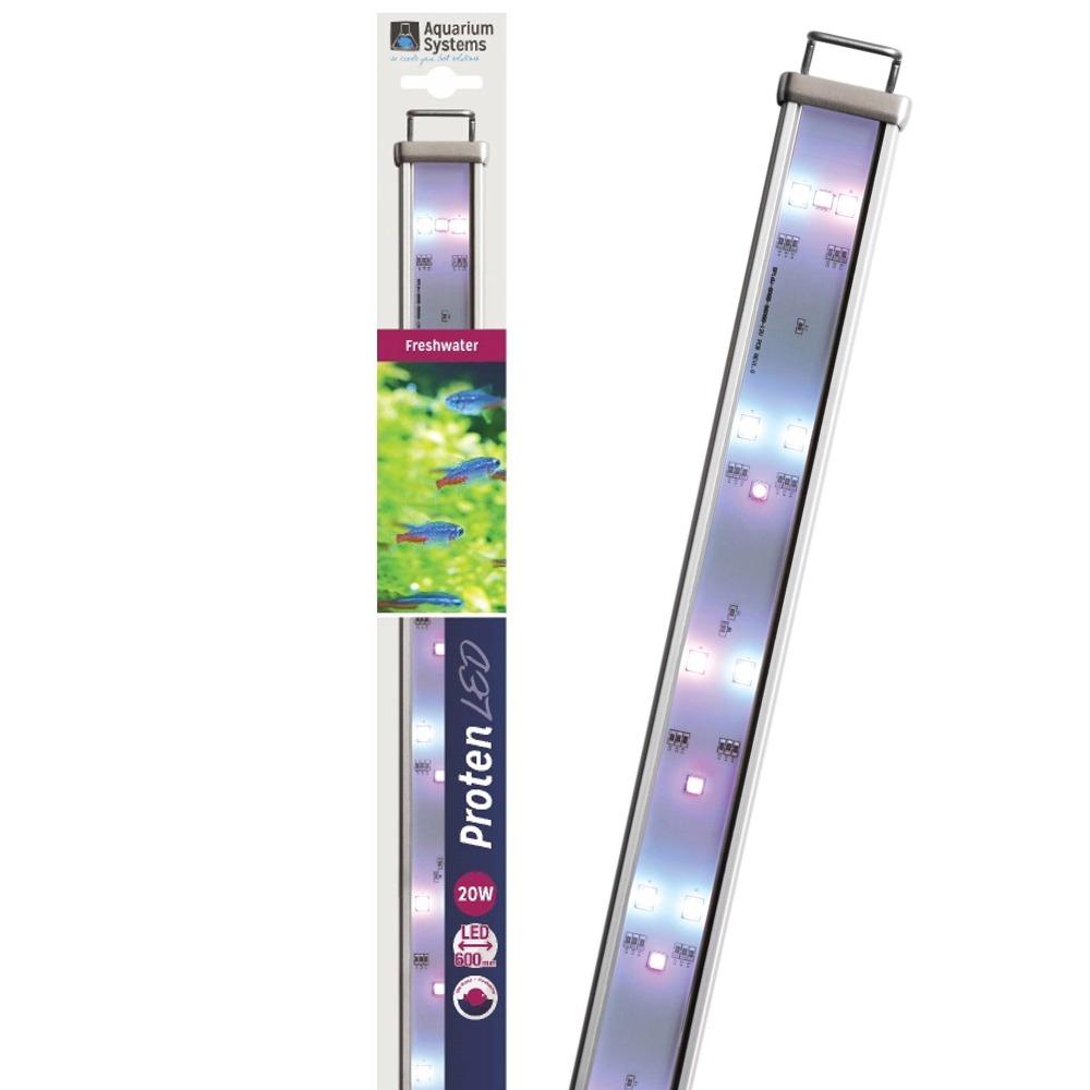 AQUARIUM SYSTEMS Proten LED Eau Douce 60 cm rampe d\'éclairage pour aquarium de 60 à 90 cm ou remplacement d\'un tube T5 ou T8