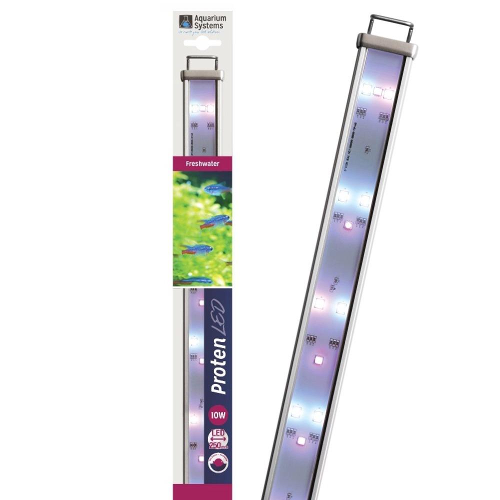 AQUARIUM SYSTEMS Proten LED Eau Douce 25 cm rampe d\'éclairage pour aquarium de 25 à 45 cm ou remplacement d\'un tube T5 ou T8