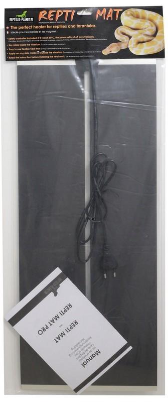 REPTILES PLANET Repti Mat 35W plaque chauffante 65 x 28 cm pour terrarium