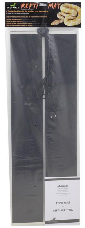 REPTILES PLANET Repti Mat 45W plaque chauffante 80 x 28 cm pour terrarium