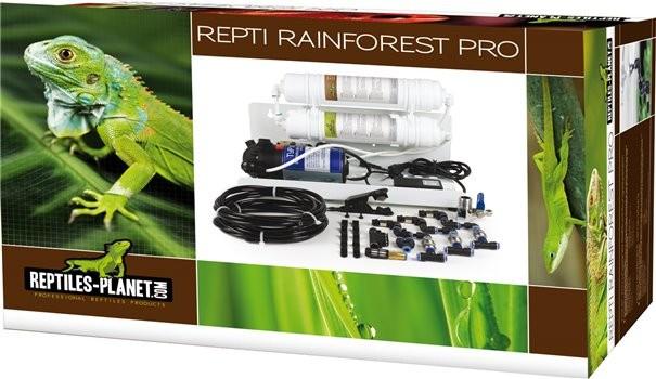 REPTILES PLANET Repti Rainforest Pro centrale de brumisation professionnelle avec 3 buses, pompes 24V et système de filtration