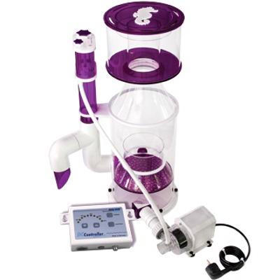 AQUAFOREST AF 200+ Skimmer écumeur pour aquarium de 300 à 1000 L avec pompe Aquabee AC UP 5000 24V