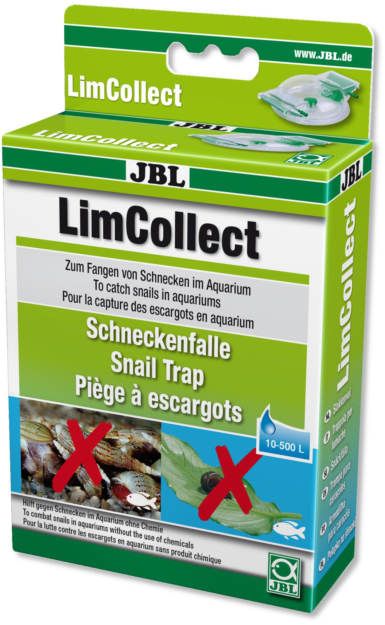 JBL LimCollect piège à escargot pour aquarium