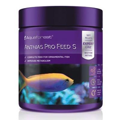 AQUAFOREST Anthias Pro Feed S 120 gr nourriture en granulés de 1 mm pour Anthias et autres poissons carnivores marins