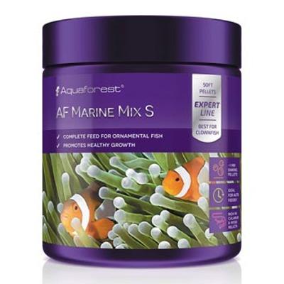 AQUAFOREST AF Marine Mix S 120 gr nourriture en granulés de 1 mm pour tous poissons marins carnivores