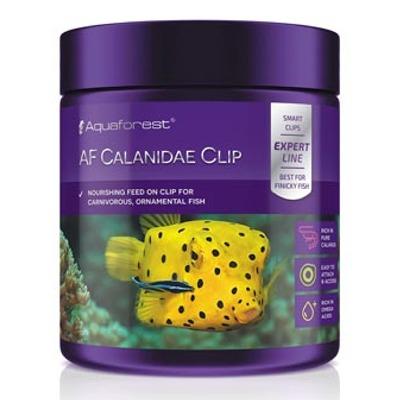 AQUAFOREST AF Calanidae Clip 120 gr nourriture à base de Calanus finmarchicus pour poissons marins avec ventouse de maintien