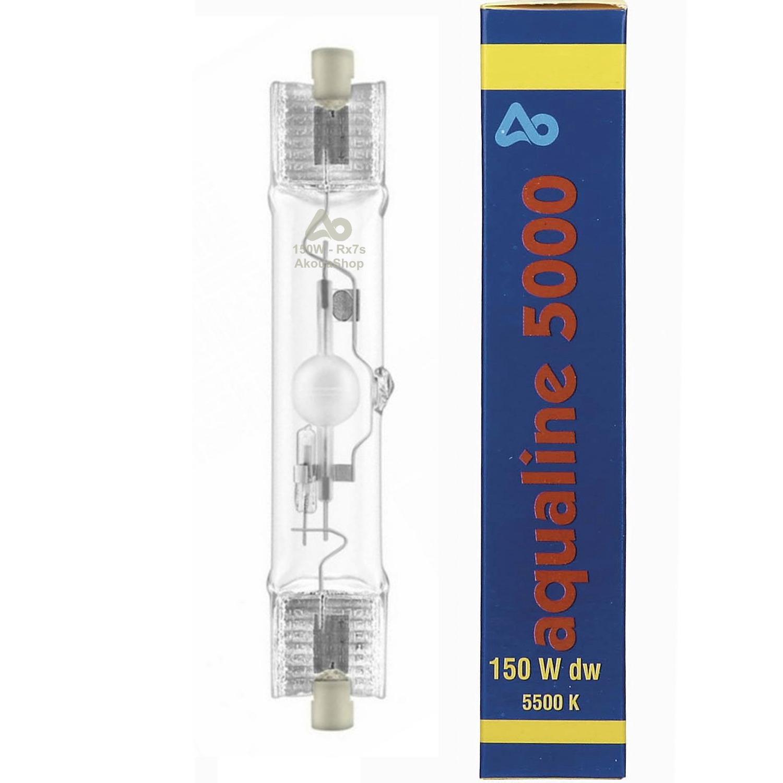AQUA MEDIC aqualine 5000 ampoule HQI 150W 5000K culot Rx7s