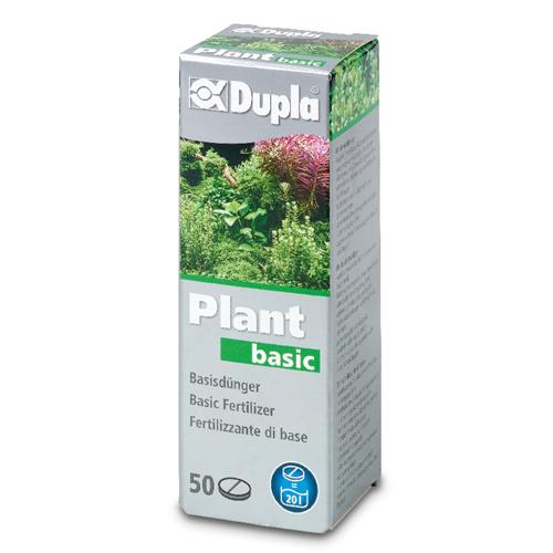 DUPLA Plant Basic 50 tablettes fertilisantes pour plantes d\'aquarium d\'eau douce jusqu\'à 1000L
