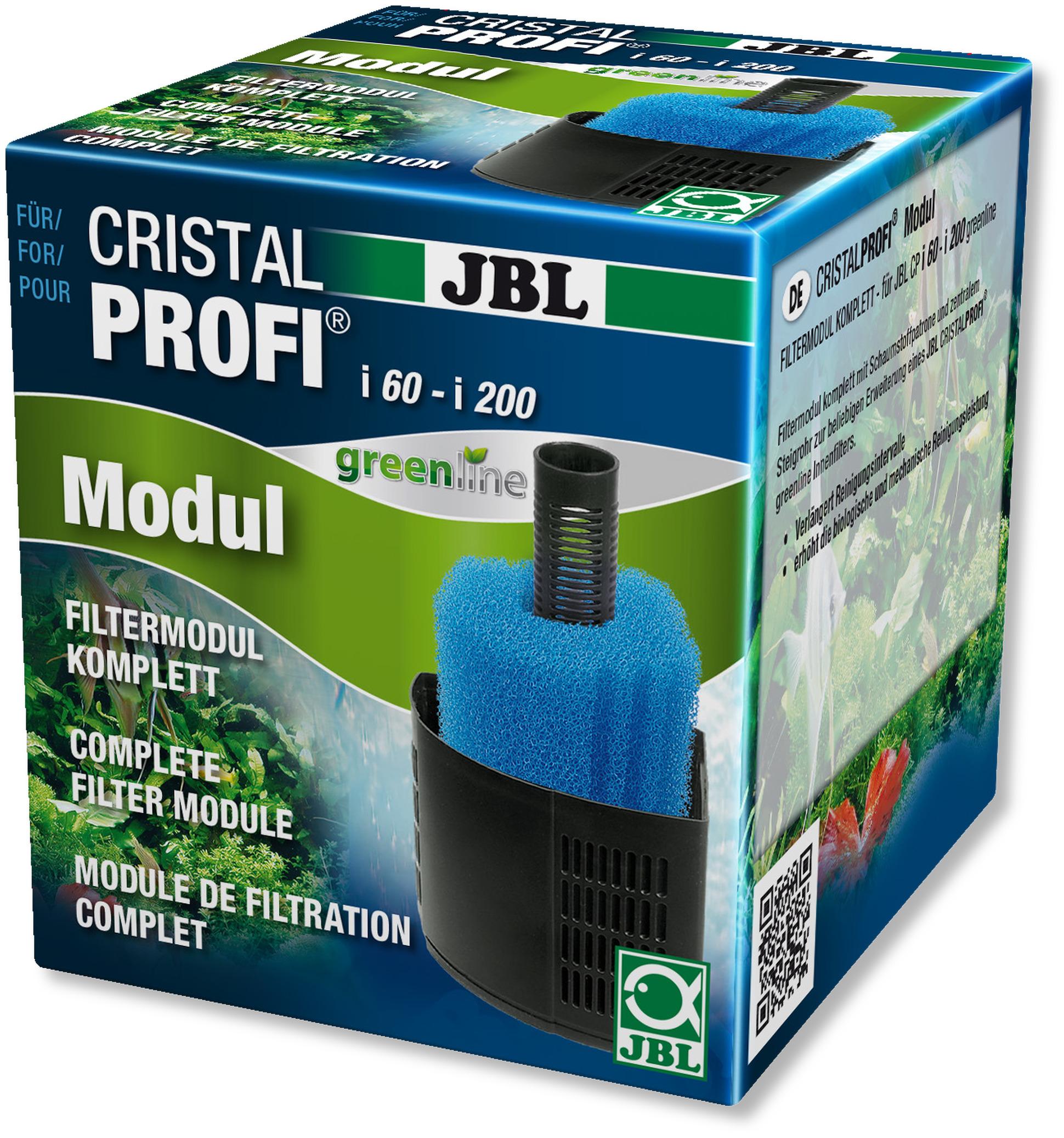 JBL Module de filtration complet pour filtres Cristal Profi GreenLine i60, i80, i100, i200
