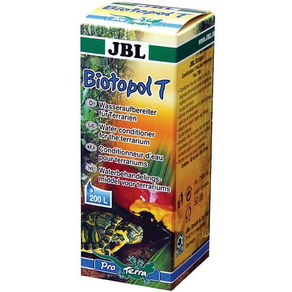 JBL Biotopol T 50 ml conditionneur d\'eau pour terrarium