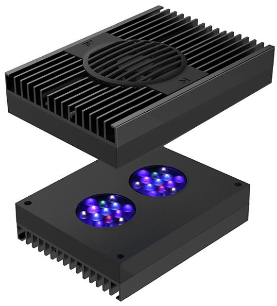 AI Hydra 26 HD Black 90W rampe LEDs haute puissance pour l\'éclairage des aquariums récifaux