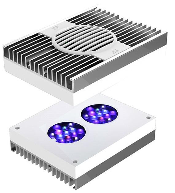AI Hydra 26 HD White 90W rampe LEDs haute puissance pour l\'éclairage des aquariums récifaux