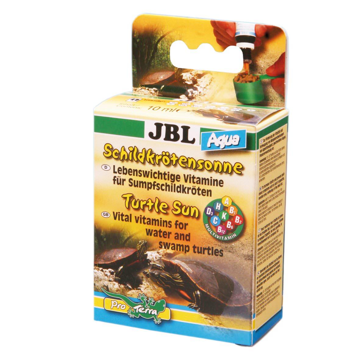 JBL Soleil Tropique Aqua produit multivitaminé pour les tortues d\'eau