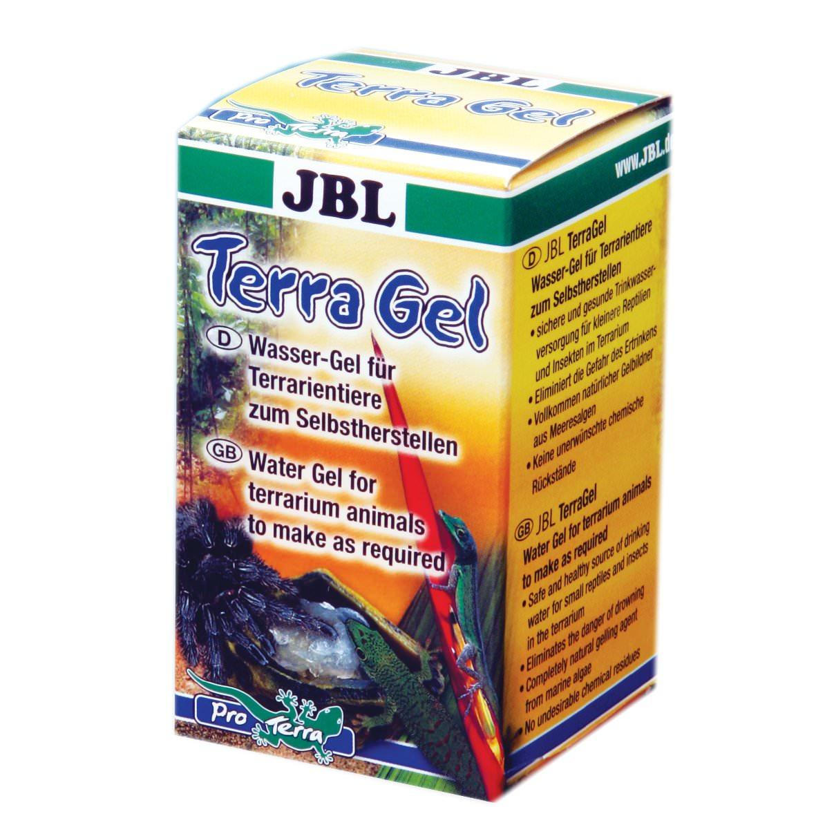 JBL TerraGel gel aqueux à préparer soi-même pour animaux de terrarium
