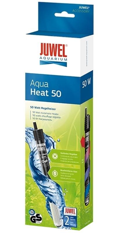 JUWEL Aqua Heat 50W chauffage avec thermostat automatique intégré pour aquarium de 25 à 60L