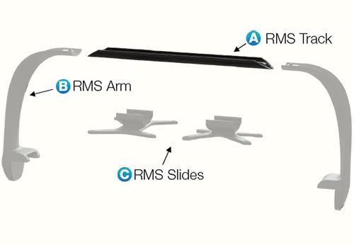 ECOTECH MARINE Multi Rail RMS (A) Track 102,9cm rail de fixation pour rampes Radion