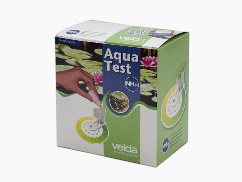 VELDA Aqua Test GH permet de déterminer avec précision la dureté de l\'eau en bassin