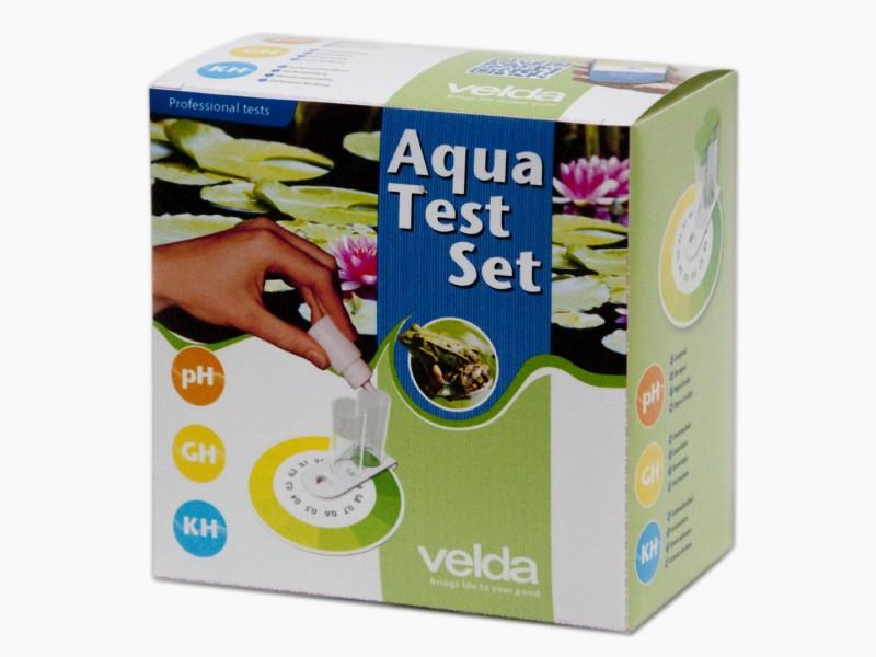 VELDA Aqua Test pH-Gh-Kh set de tests précis pour la détermination des paramètres pH, Gh et Kh en bassin