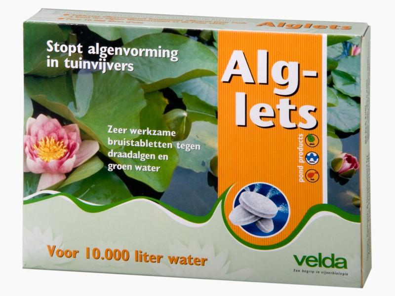 VELDA Alglets 10 tablettes effervescentes anti-algues longue durée d\'action pour bassin jusqu\'à 10000 L