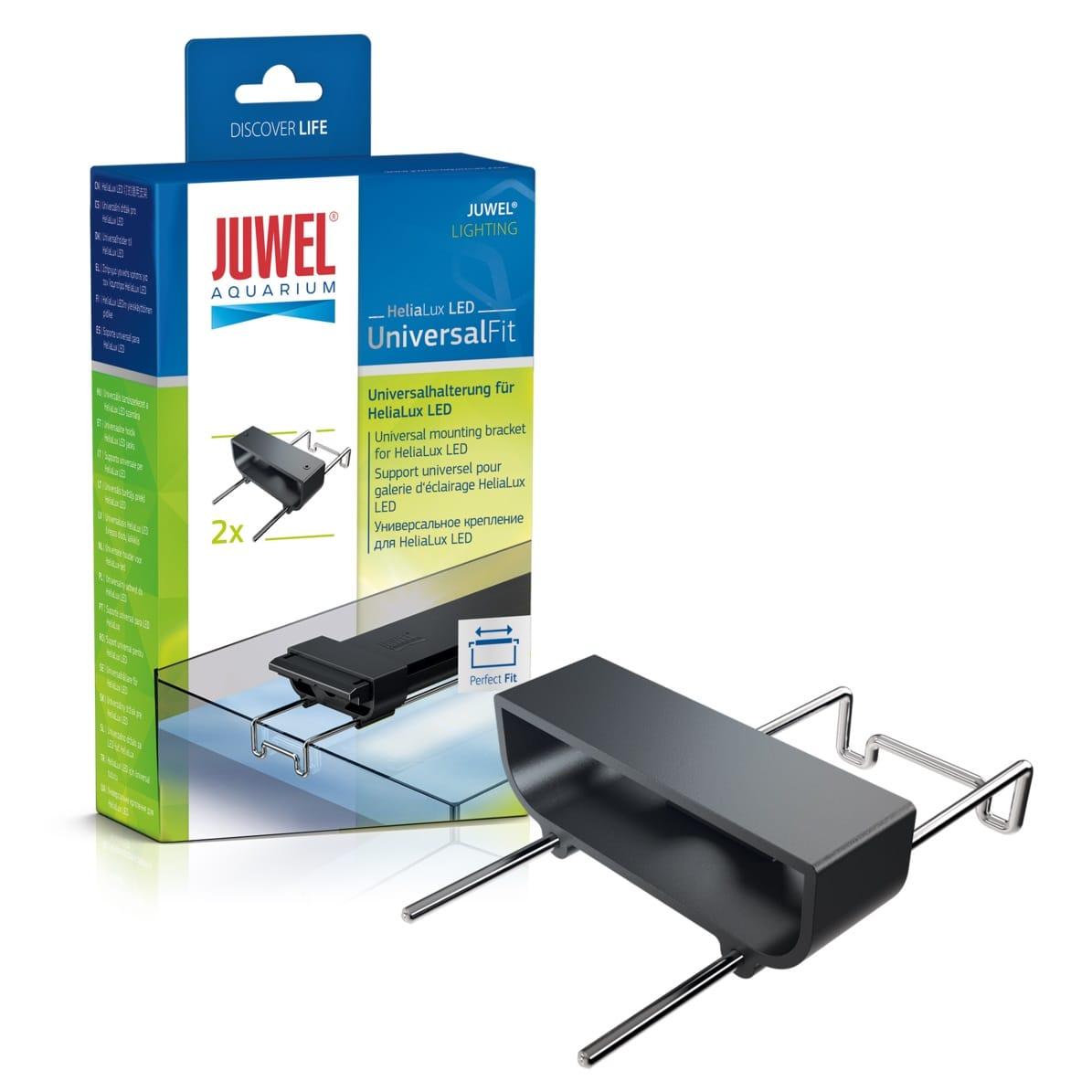 JUWEL HeliaLux LED UniversalFit lot de 2 supports pour transformer une réglette LEDs Helialux en rampe universelle