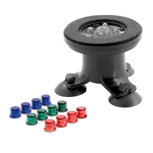 AQUAEL AirLights diffuseur d\'air à LED multicolore pur aquarium